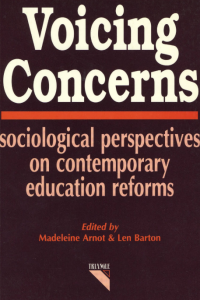 Voicing Concerns: Sociological Knowledge and Education Policy
